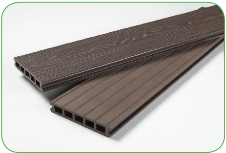 Mahogony Brown Composite Decking 146mm x 25mm x 3600mm