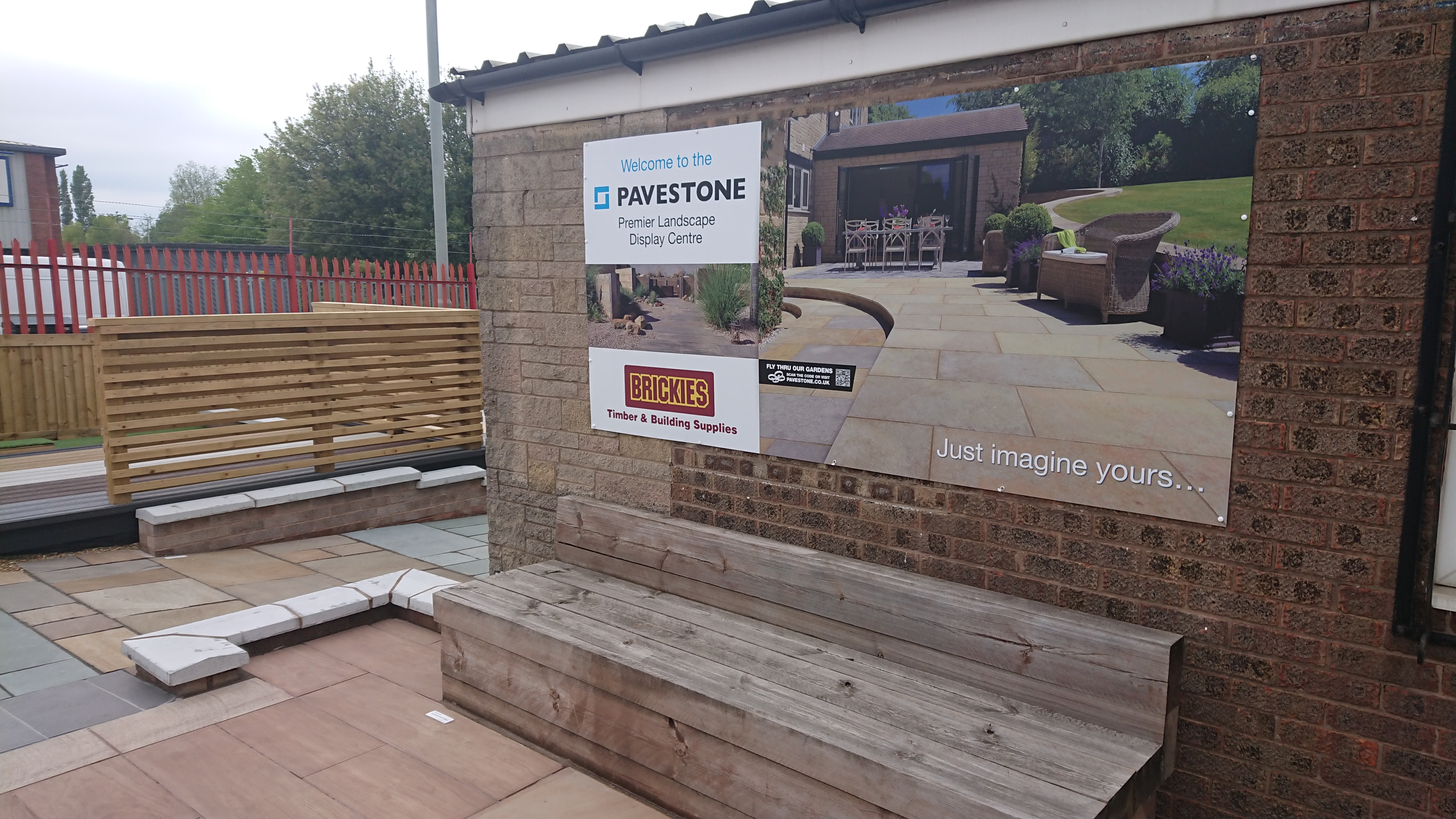 Come View Our Landscape Display Area, Brickies Timber & Building Supplies, Whitehill Industrial Estate, Stockport, SK4 1NS